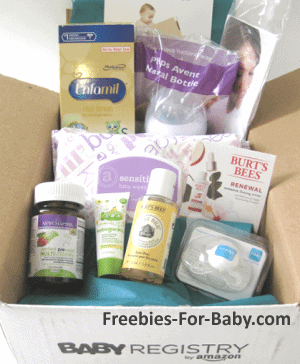 Free Amazon Baby Registry Welcome Box - $35 value!