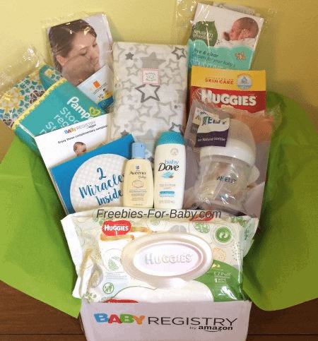 FREE Amazon Baby Registry Welcome Box