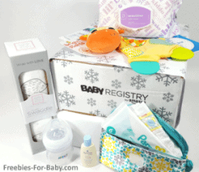 Free Amazon Baby Box ($35 value) - 7 Best Baby Registries for Free Baby Stuff