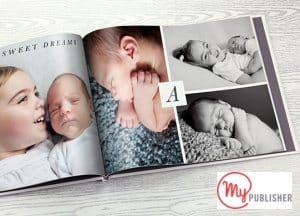 Free Baby Photo Book from MyPublisher