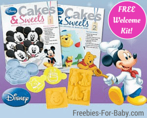 FREE Disney Cakes & Sweets Welcome Package