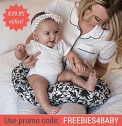 Free Nursing Pillow - $39.95 value