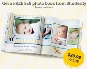 Free Baby Photo Book from Shutterfly - $29.99 value!