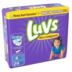 Free jumbo pack of Luvs Diapers + $2.52 Moneymaker!