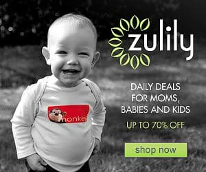 Save 70% off daily deals for Moms and Baby at Zulily